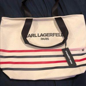 Karl Lagerfeld tote